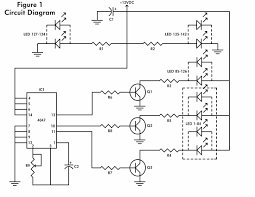 8 led chaser circuit diagram wiring library
