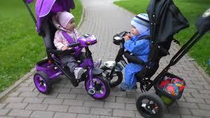 Обзор <b>трехколесного велосипеда MOBY KIDS</b> LEADER - YouTube