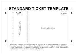 concert ticket maker theatre ticket template free