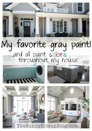 Home Exterior Paint Design Magnificent My Favorite Gray Paint And All Paint Colors Throughout My House