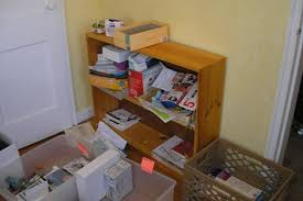 home office simple neat. Home Office Desk Before Simple Neat A