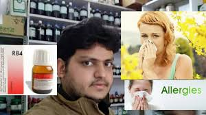 Homeopathic medicine for allergy rhinitis sinusitis and astma - YouTube