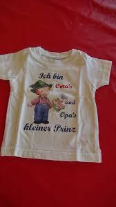Süßes T Shirt Mit Spruch Ich Bin Omas Und Opas Kleiner Prinz