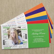 Personalized Photo Graduation Announcement Postcards