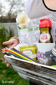 celebrate the new moms in your life by making a thoughtful gift basket include things