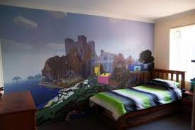 Charming Minecraft Bedroom Wallpaper Style Photo Gallery. Next Image »»