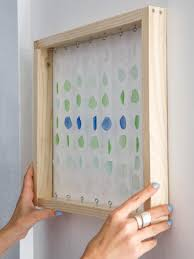diy sea glass shadowbox