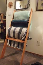 Blanket Rack Ladder : HOUSE PHOTOS - Exclusive Ideas Blanket Rack & Blanket Rack Ladder Adamdwight.com