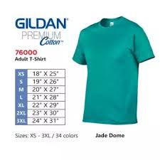 Gildan Boxer Brief Size Chart Gildan T Shirt