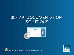 slideshare api ultimate guide to 30 api documentation solutions