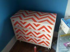 chevron painted furniture. I Painted My Dresser Chevron! Chevron Furniture