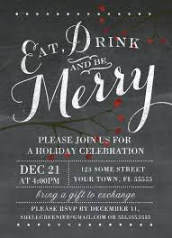 Template For Christmas Party Invitation Free Christmas Party Invitation Borders Holiday Party Email