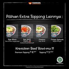 Dalam bahasa indonesia, fuyunghai dapat disebut sebagai telur dadar dengan daging kepiting. Yoshinoya Indonesia On Twitter New Premium Topping Beef Bowl Sekarang Ada 3 Pilihan Premium Topping Beef Bowl Yoshinoya Lovers Yuuukk Langsung Ke Yoshinoya Kesayangan Kamu Nikmati Juga Promo Diskon 50 Matcha