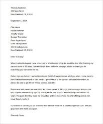 retirment letter sample retirement letter template sample resume letter