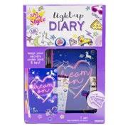 Just My Style Light-Up Diary Kit by Horizon Group USA Age 8-11 Girls\u0027 Toys