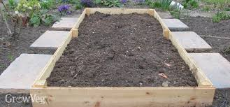 building garden beds. treating wood for vegetable gardens building garden beds