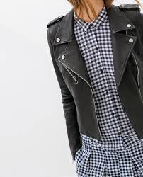 wishlist zara leather jacket