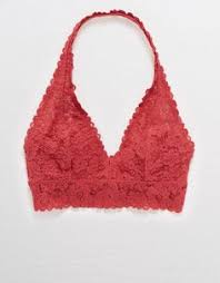 Aerie Softest® Lace Halter Bralette | Products in 2019 | Lace halter ...