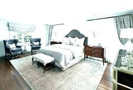 area rug under bed how to place an in a bedroom small rugs twin beds size
