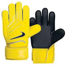 nike goalkeeper gloves. nike junior grip goalkeeper gloves (yellow/black)