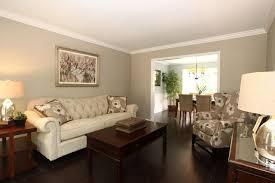 Neutral Living Room Color Interior Design