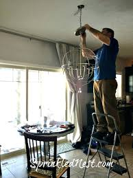 ballard designs chandeliers chandelier shades install a new orb chain cover