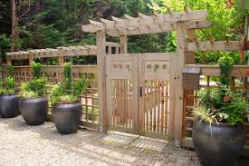 wooden fence designs outdoor fence designs