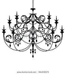 chandelier silhouette clip art silhouette vintage gold crystal chandelier chandeliers for low ceilings uk
