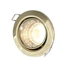 Mirrorstone Lighting Ltd Mirrorstone Gu10 Recessed Ceiling Tilt Downlight Fitting