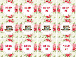 tea party templates printable templates mad hatters tea party download them or print
