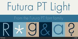 Futura Light Webfont Similar Fonts To Futura Pt Fontspring
