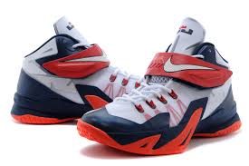 lebron zoom soldier 8. cheap for sale nike zoom lebron soldier 8 usa white obsidian-university red-3