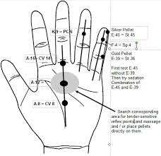 Chinese Meridian Chart Pdf 72 Actual Hand Meridians Chart