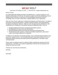 Cover Letter Sample For Information Technology Best Resume Templates