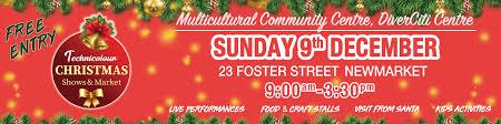 Technicolour Christmas Shows Market Multicultural Community Centre