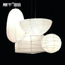 paper pendant light paper pendant lighting loft simple paper lamp lantern pendant light led lighting dinning