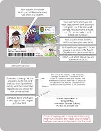 Of Services Zealand University Student New Id Card Other Otago