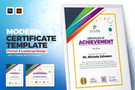 Corporate Certificate Template Certificate Design Template Weidea
