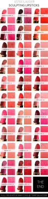 Estee Lauder Lipstick Shade Chart Estee Lauder Lipstick Colour Chart Prosvsgijoes Org