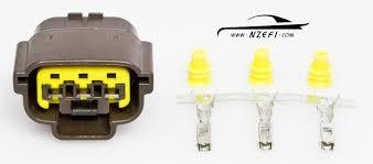 nissan pin sr throttle position sensor connector nzefi nissan 3 pin tps coil connector sr20 rb25 rb26 rb20