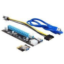 <<b>Riser Card</b> Ver009.02a> <b>Адаптер</b> PCI-Ex1 M --> PCI-Ex16 F ...
