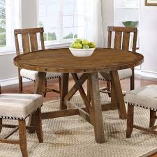 Brunswick Solid Wood Dining Table  Reviews Joss  Main - Solid wood dining room tables