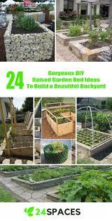 building a garden bed. 24 Gorgeous DIY Raised Garden Bed Ideas To Build A Beautiful Backyard \u2013 SPACES Building