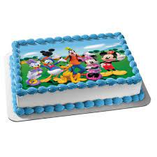 1 4 sheet mickey mouse clubhouse edible