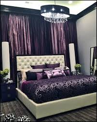 Elegant French Boudoir Themed Bedroom Style Wall Of Floor To Ceiling Drapes    Dramatic Look W/o Wallpaper