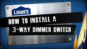 how to install a 3 way dimmer switch how to install a 3 way dimmer switch