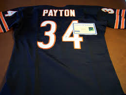 Home Ltd Walter Autographed 250 Steiner Jersey 183 - Rookie Payton|Patriots-Jets Monday Night Football Predictions