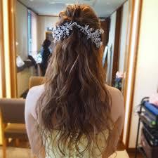 カラードレス髪型75選先輩花嫁たちをお手本にしよう