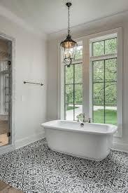 white and black mediterranean bathroom ideas
