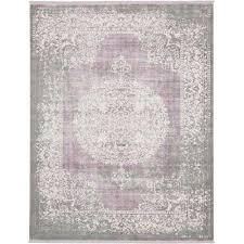 new classical olwen purple 8 0 x 10 0 area rug purple light green